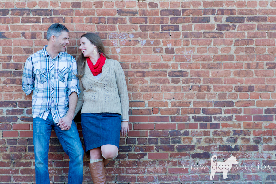 Family Photography Session in Waxhaw:  One of the classic old brick buildings