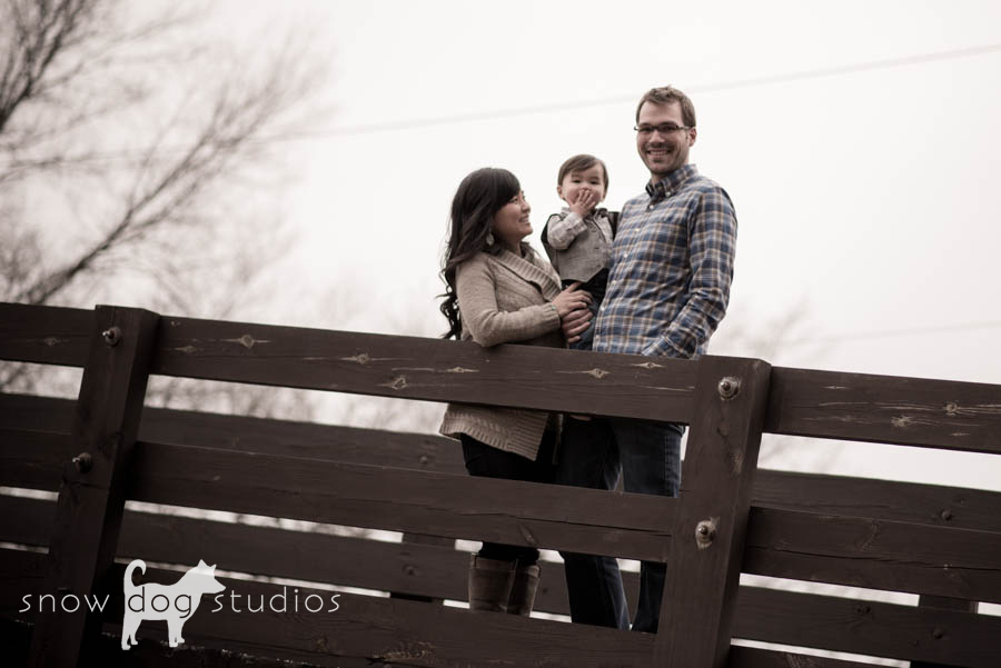 A happy little boy during a family photography session in Waxhaw, NC
