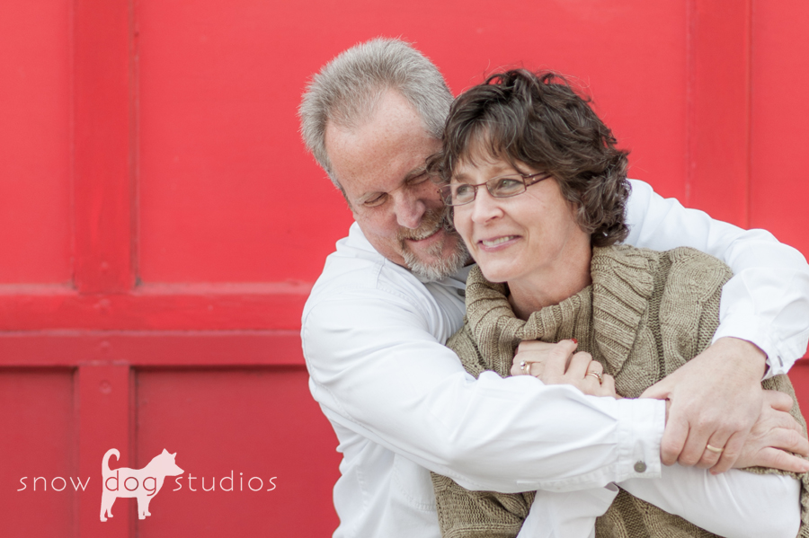 Couple enjoying a Birthday Photo Session in Waxhaw